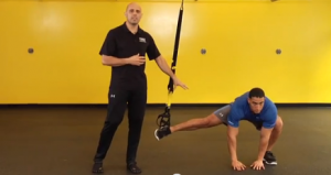 Ejercicios para corredores. Lunge lateral final